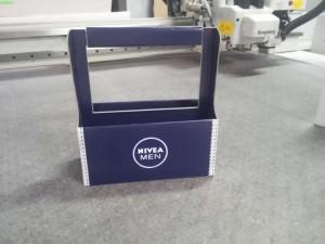 pudełko z nadrukiem nivea